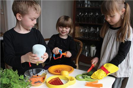 Design:Kitchen kids
