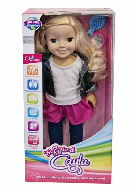 The Toy Fair 2014 - My Friend Cayla Vivid Toy Group.